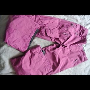Women's Insulated Powder Bowl Pants Pink